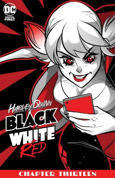 Harley Quinn Black + White + Red #13 (2020)