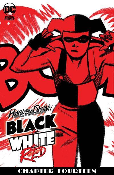 Harley Quinn Black + White + Red #14 (2020)