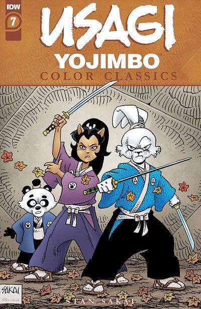 Usagi Yojimbo Color Classics #7 (2020)