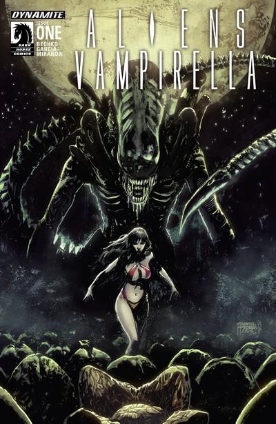 Aliens-Vampirella #1 – 6 (2015) (Digital)