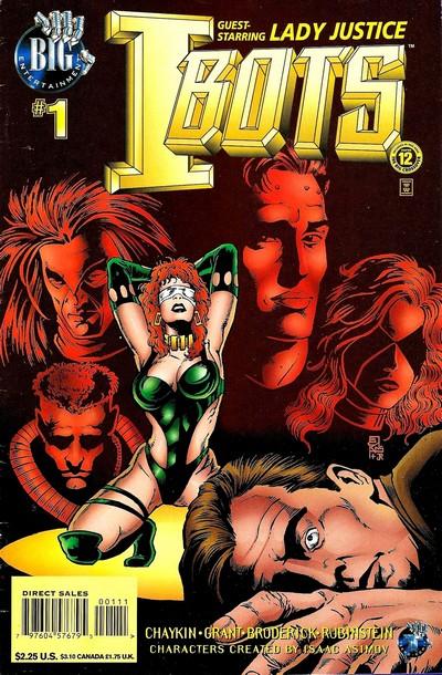Isaac Asimov's I-Bots Vol. 2 #1 – 9 (1996-1997)