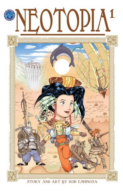 Neotopia Vol. 1 – 4 (2003-2004)