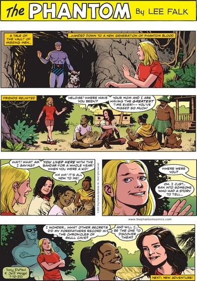 The Phantom Sunday Comics Collection #1 – 189 (1939-2020)