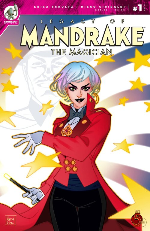 The Legacy of Mandrake the Magician #1 (2020)