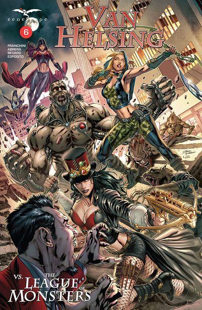 Van Helsing vs The League of Monsters #6 (2020)