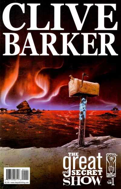 Clive Barker's Great and Secret Show #1 – 12 (2006-2007)