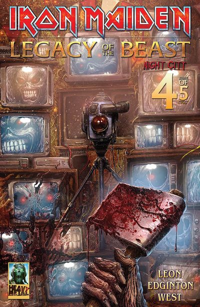 Iron Maiden – Legacy of the Beast – Night City #4 (2020)