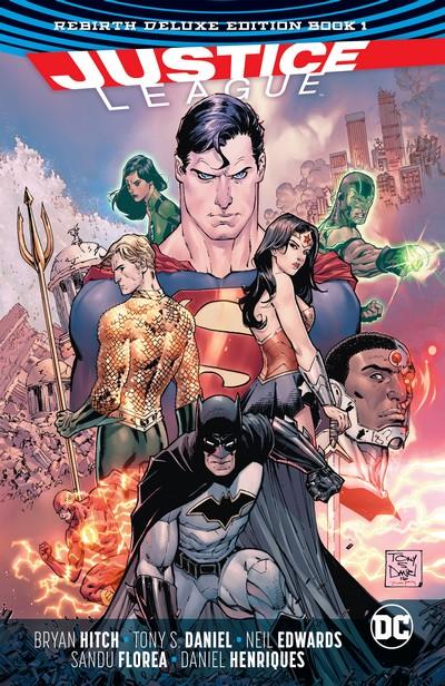 Justice League – Rebirth Deluxe Edition Book 1 – 3 (2017-2018)