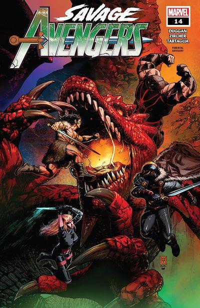 Savage Avengers #14 (2020)