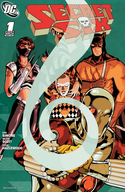Secret Six Vol. 3 #1 – 36 (2008-2011)