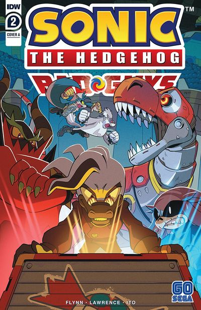 Sonic The Hedgehog – Bad Guys #2 (2020)