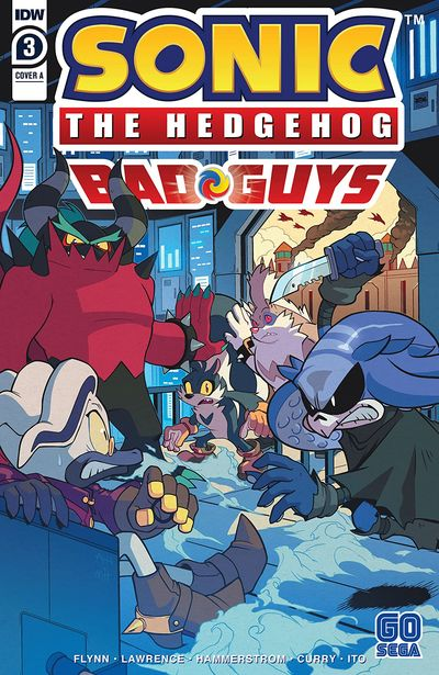 Sonic The Hedgehog – Bad Guys #3 (2020)