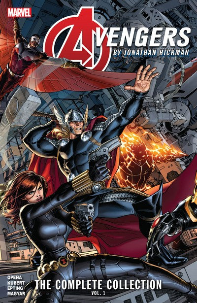 Avengers by Jonathan Hickman – The Complete Collection Vol. 1 – 4 (2020-2021)
