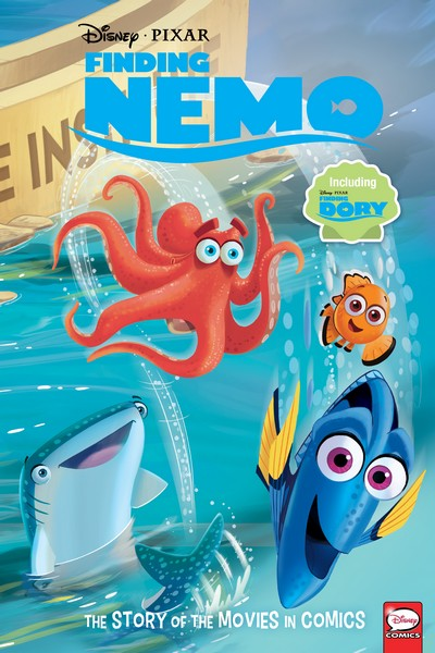 Finding Nemo and Finding Dory – The Story of the Movies in Comics (2020)