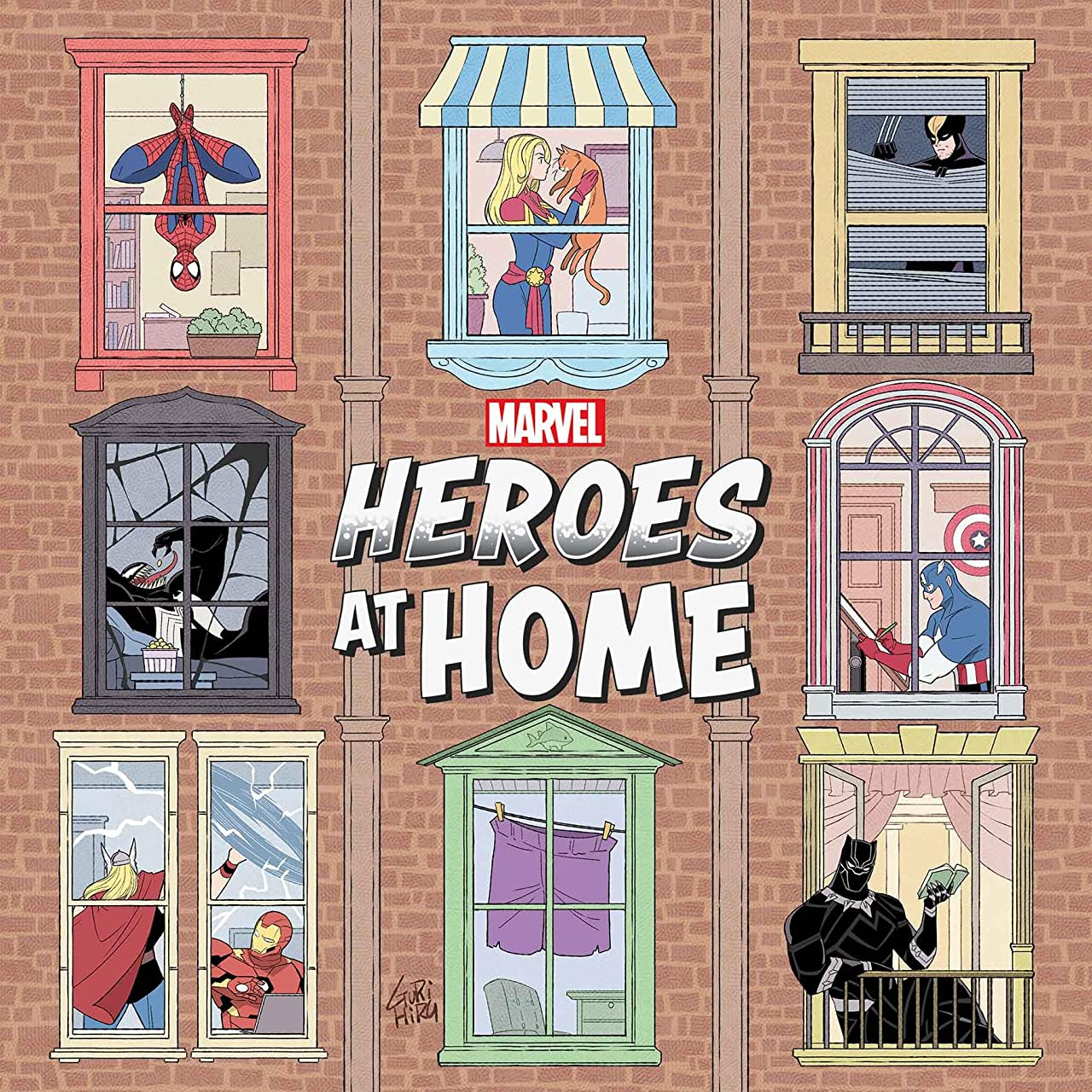 Heroes At Home #1 (2020)