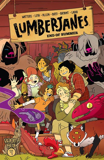 Lumberjanes – End of Summer #1 (2020)