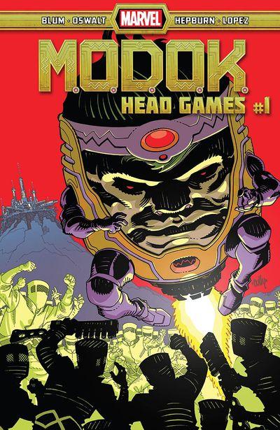 M.O.D.O.K. – Head Games #1 (2020)