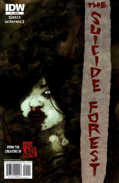 The Suicide Forest #1 – 4 (2010)
