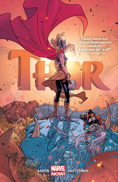 Thor by Jason Aaron and Russell Dauterman Vol. 1 – 4 (2016-2020)