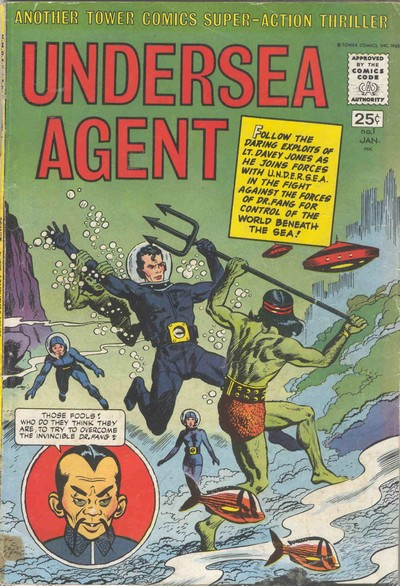 Undersea Agent #1 – 6 (1966-1967)