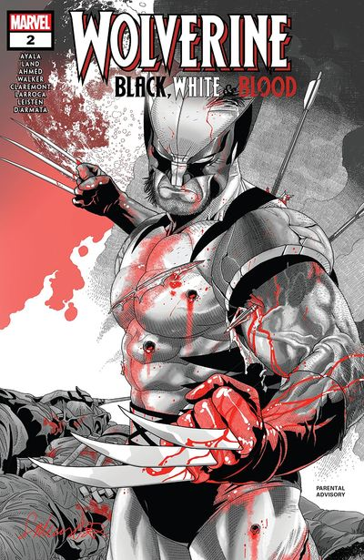 Wolverine – Black, White & Blood #2 (2020)