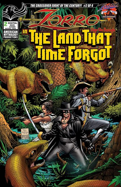 Zorro in the Land That Time Forgot #2 (2020)