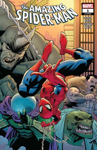 Amazing Spider-Man Vol. 5 #1 – 57 (2018-2021)