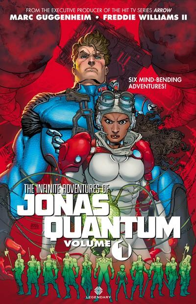 The Infinite Adventures of Jonas Quantum Vol. 1 (2016)