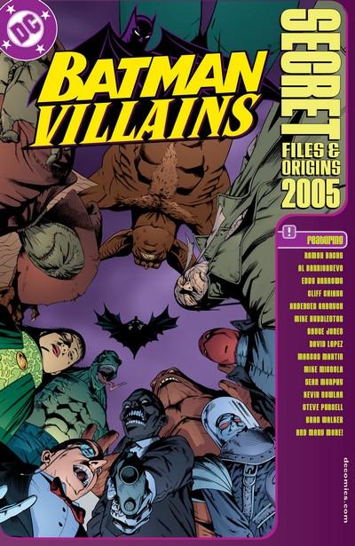 Batman Villains – Secret Files #1 (2005)