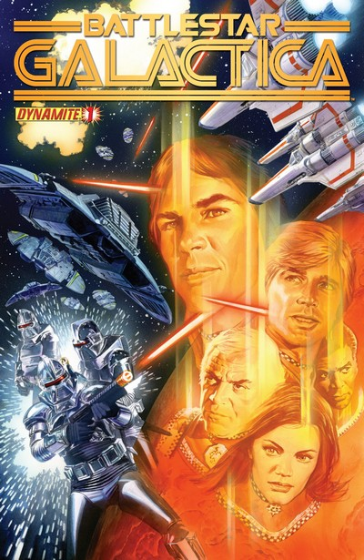Classic Battlestar Galactica #1 – 12 (2013)