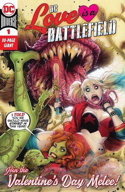 DC Love Is A Battlefield #1 (2021)