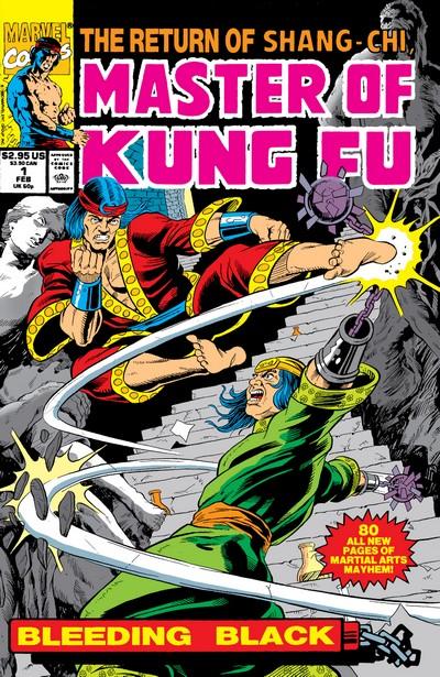 Master of Kung Fu – Bleeding Black #1 (1990)