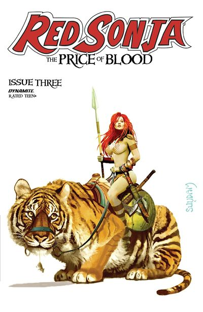 Red Sonja – The Price of Blood #3 (2021)
