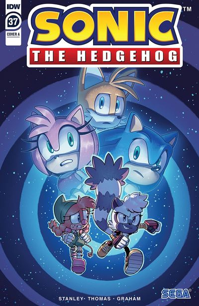 Sonic The Hedgehog #37 (2021)