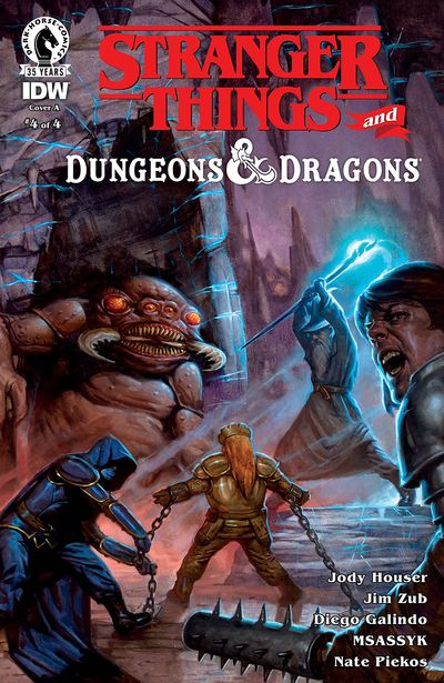 Stranger Things and Dungeons & Dragons #4 (2021)