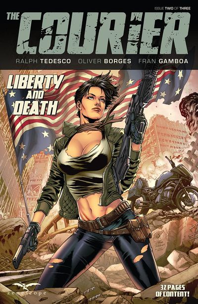 The Courier – Liberty and Death #2 (2021)