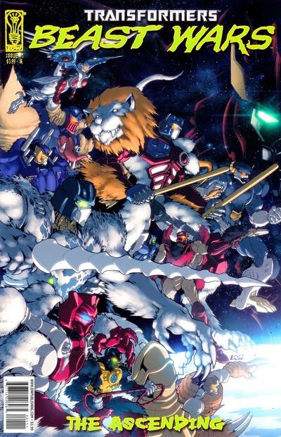 Transformers – Beast Wars – Ascending #1 – 4 (2007)