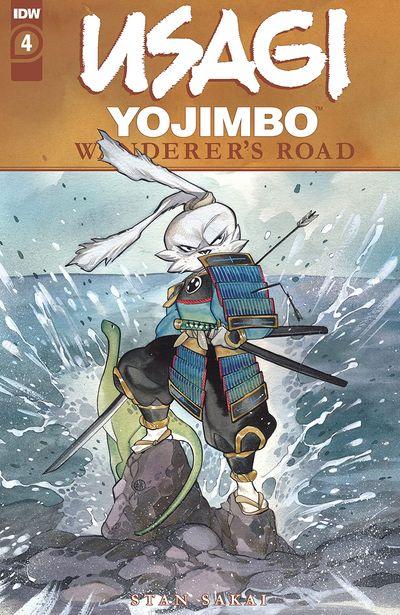 Usagi Yojimbo – Wanderer's Road #4 (2021)