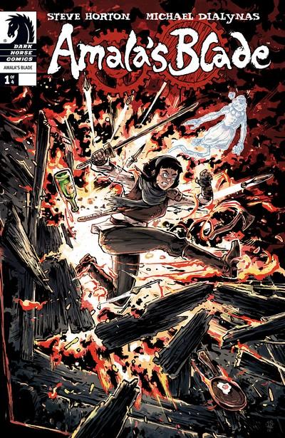 Amala's Blade #0 – 4 (2013)