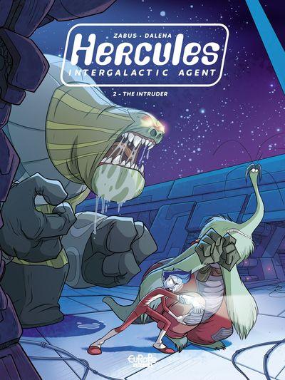 Hercules Intergalactic Agent #2 – The Intruder (2021)