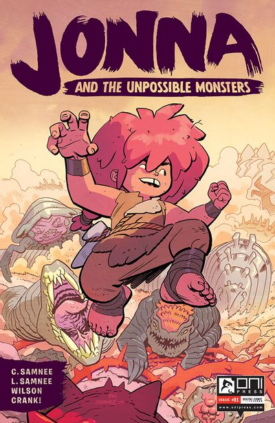 Jonna and the Unpossible Monsters #1 (2021)