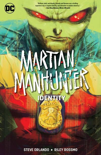 Martian Manhunter – Identity (TPB) (2020)