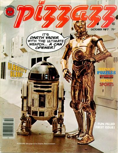 PIZZAZZ Magazine #1 – 16 (1977-1979) (Marvel)