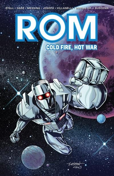 ROM – Cold Fire, Hot War (TPB) (2018)