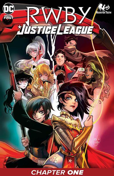 RWBY – Justice League #1 (2021)