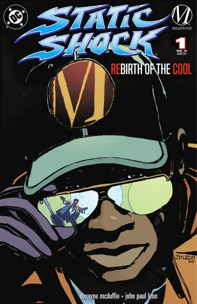 Static Shock! – Rebirth of the Cool #1 – 4 (2000-2001)