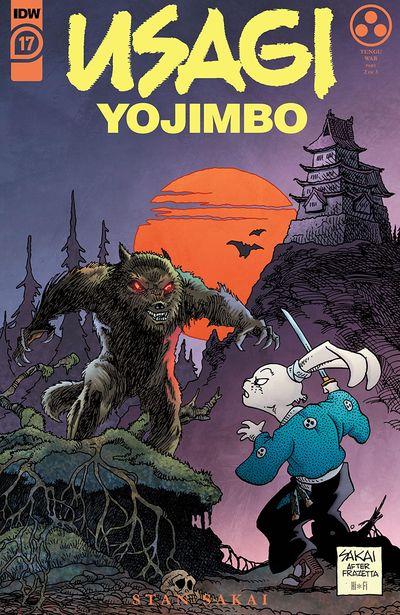 Usagi Yojimbo #17 (2021)