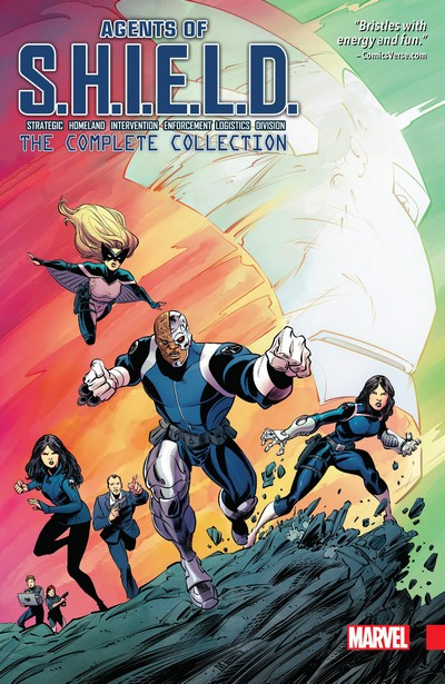 Agents Of S.H.I.E.L.D. By Marc Guggenheim – The Complete Collection (2106) (Fan Made Omnibus)