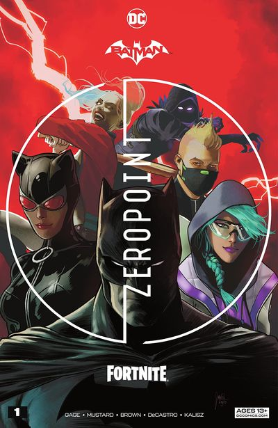 Batman – Fortnite – Zero Point #1 (2021)