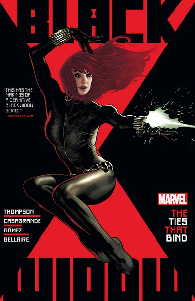 Black Widow By Kelly Thompson Vol. 1 – The Tie That Binds (TPB) (2021)